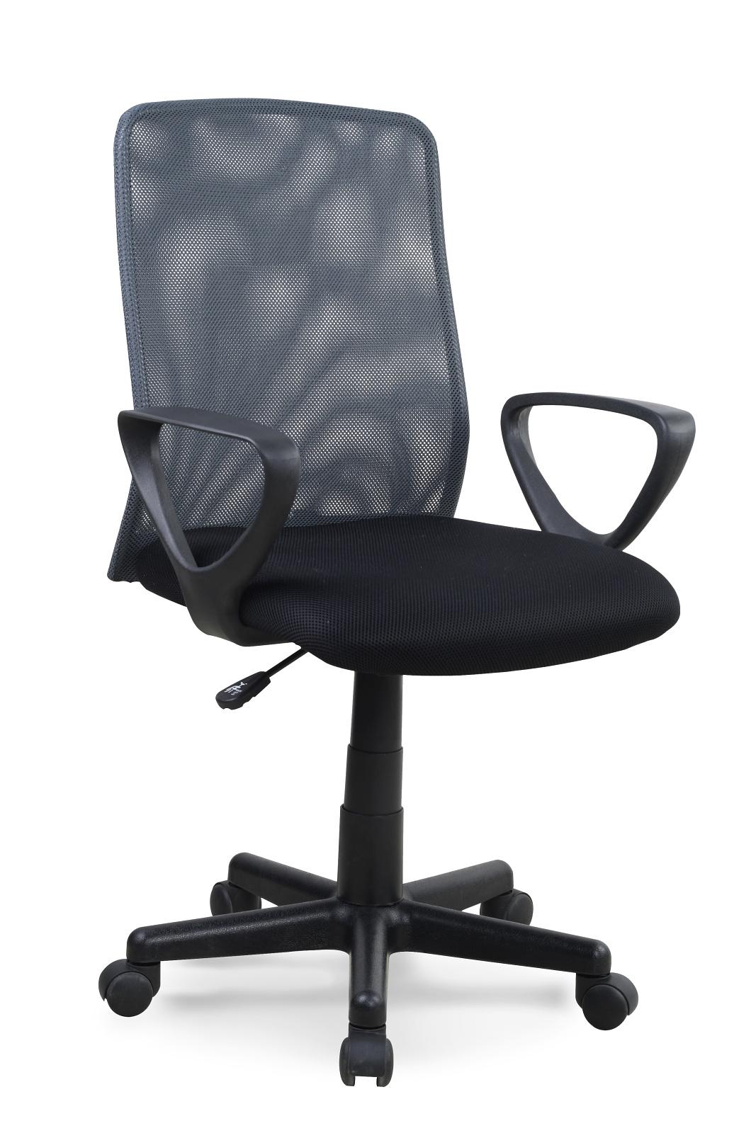 Kancelářská židle - Halmar - Alex černá + šedá
