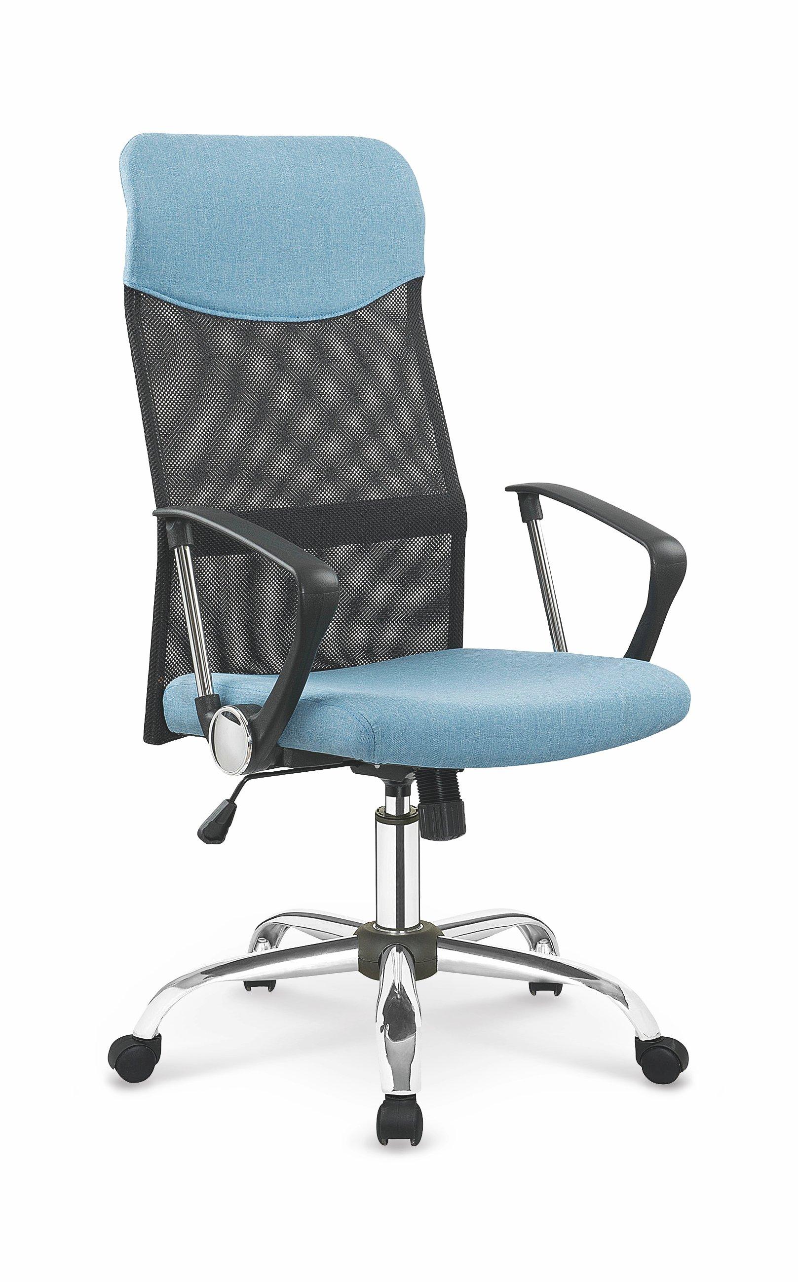 Kancelářská židle - Halmar - Vire 2 (černá + modrá)