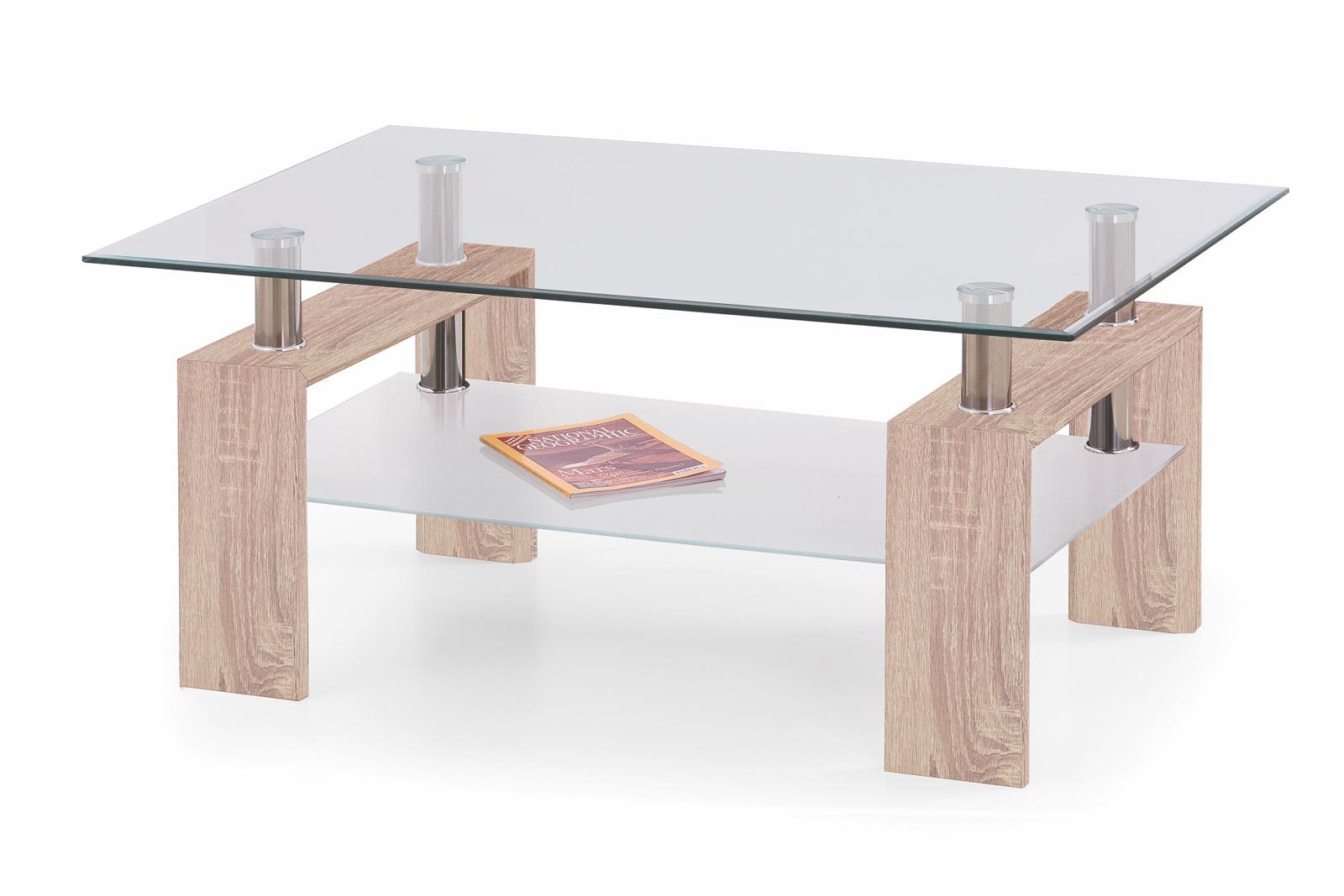 Konferenční stolek - Halmar - Diana Max Dub Sonoma