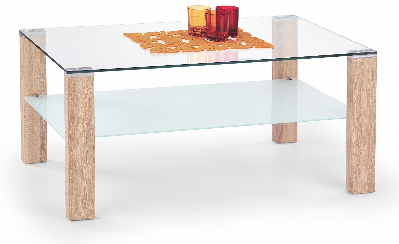 Konferenční stolek - Halmar - Simple Dub Sonoma