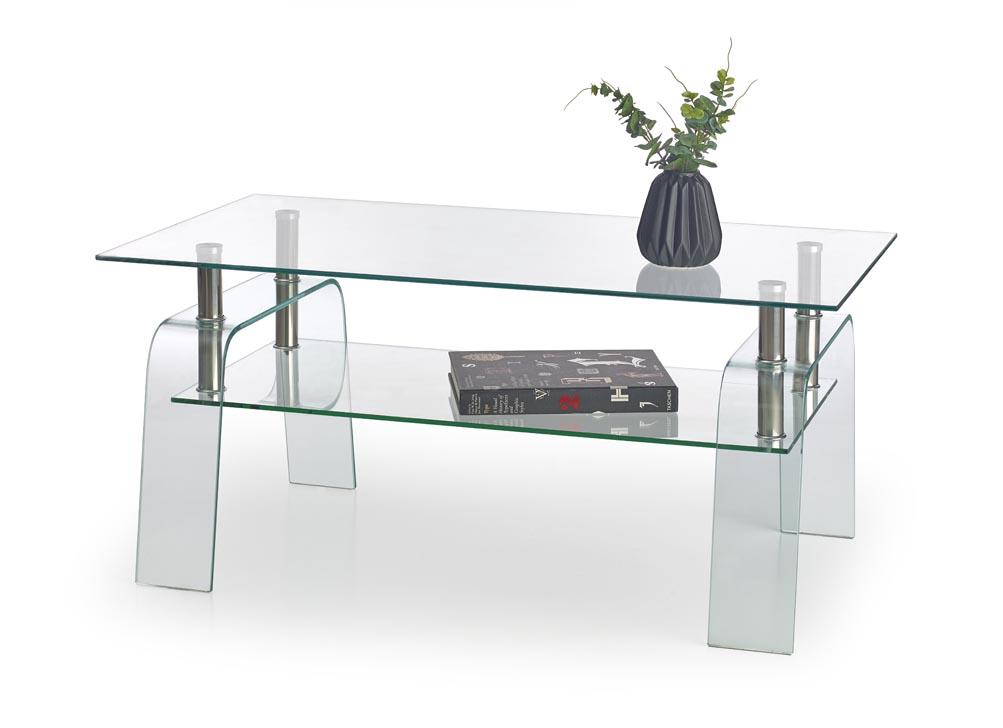 Konferenční stolek - Halmar - Naomi (sklo)