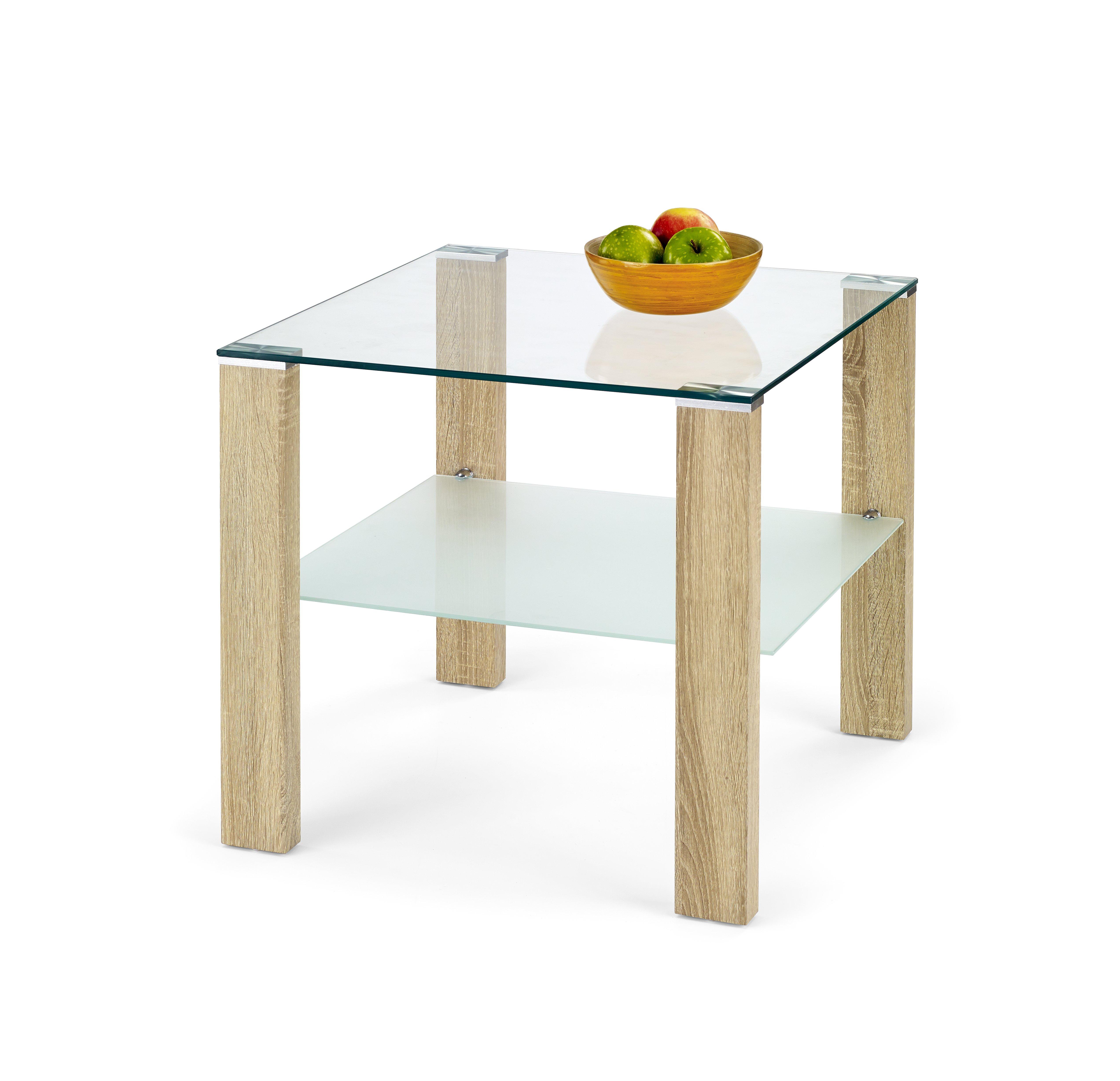 Konferenční stolek - Halmar - SIMPLE H KWADRAT Dub Sonoma