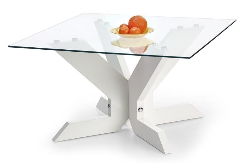 Konferenční stolek - Halmar - Aisha bílý
