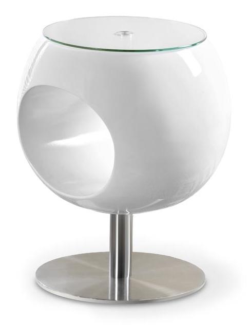 Konferenční stolek - Halmar - Donna bílý