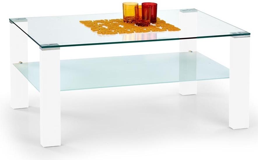 Konferenční stolek - Halmar - Simple bílý