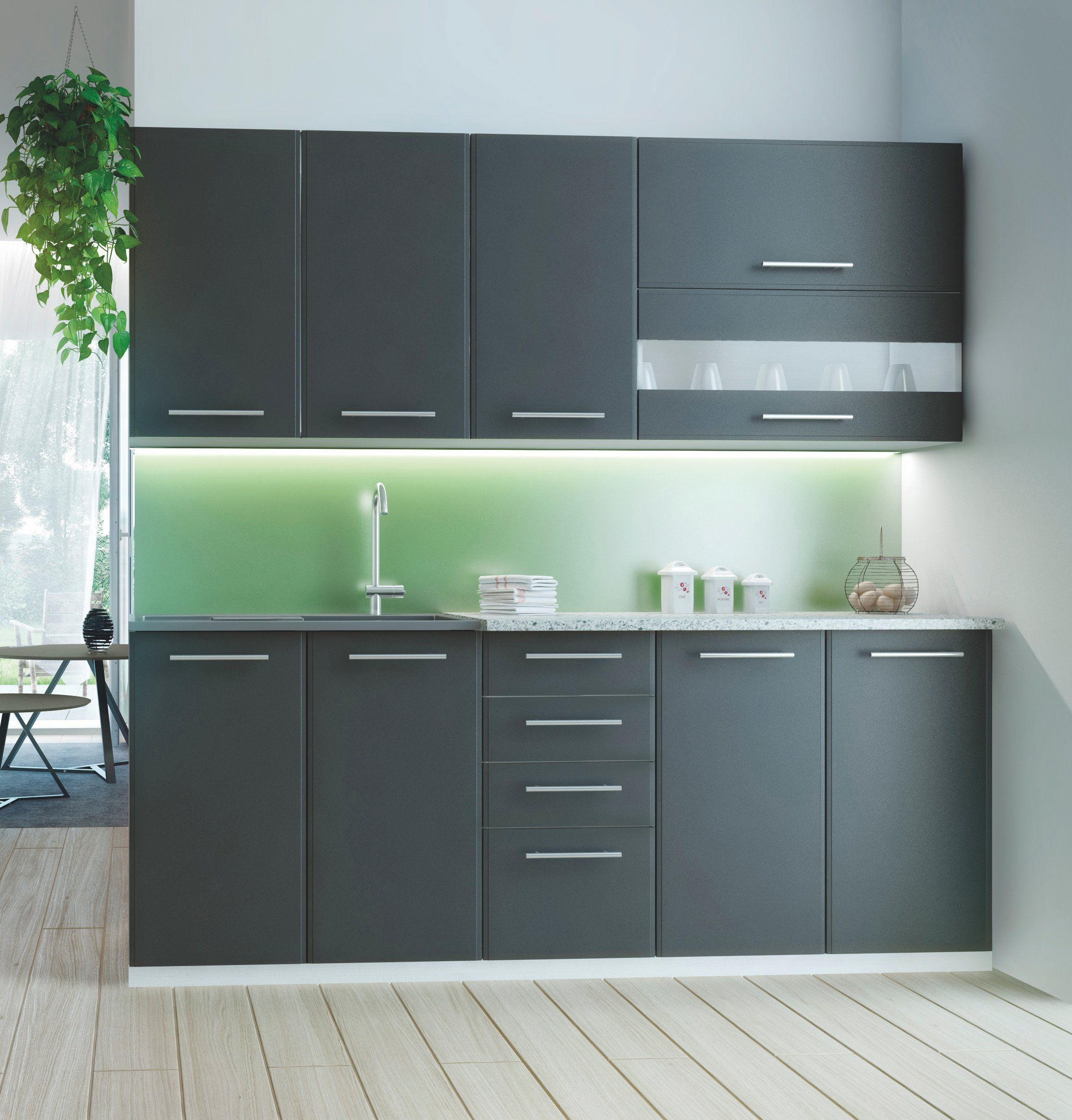 Kuchyně - Halmar - Como 200 cm