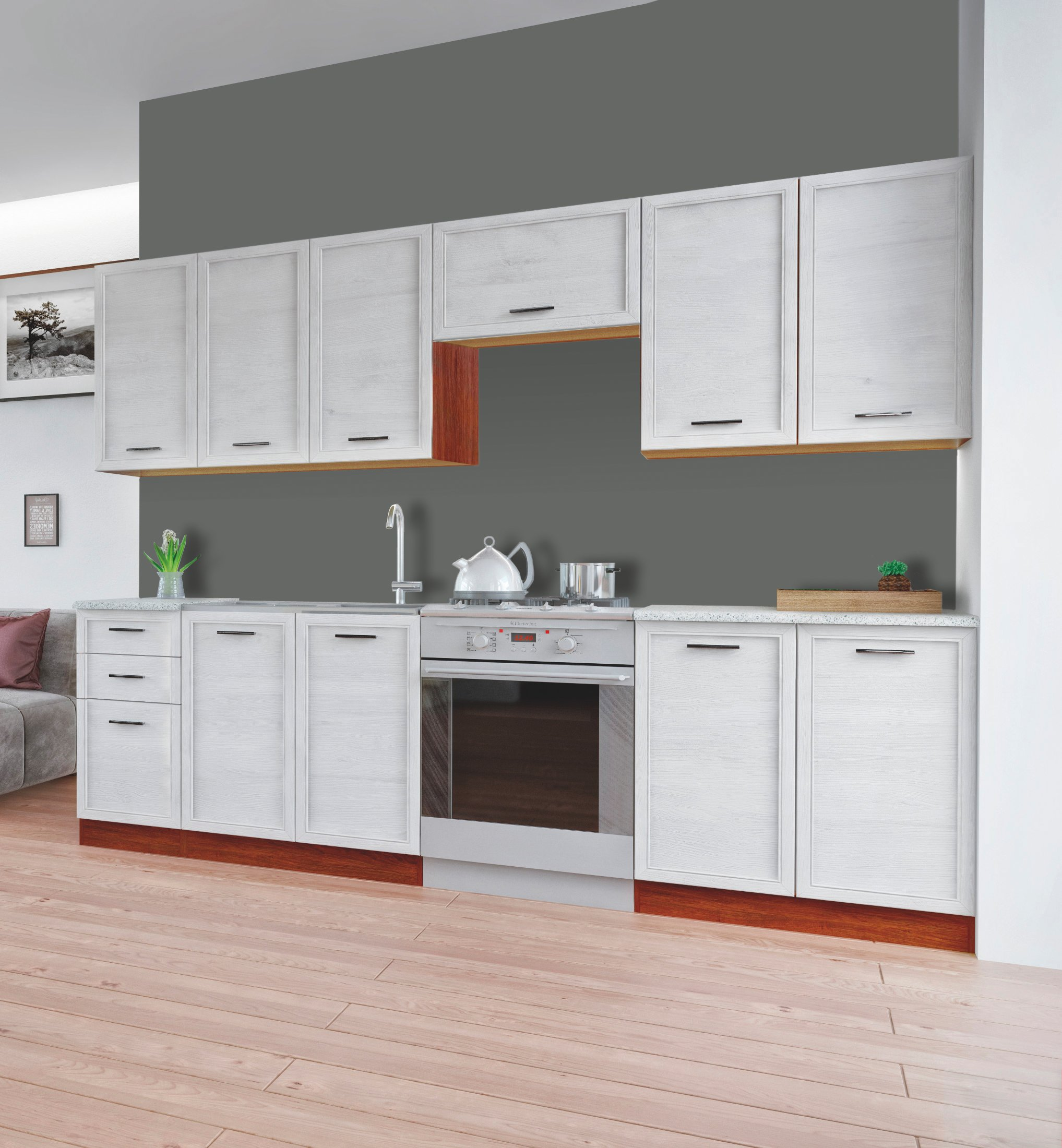 Kuchyně - Halmar - Reus 260 cm