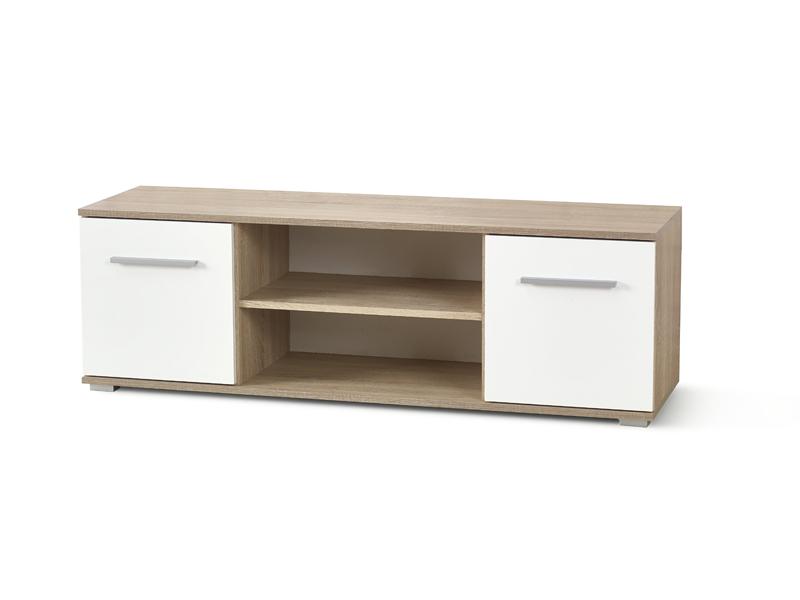 TV stolek/skříňka - Halmar - Lima RTV-1 (dub sonoma + bílá)