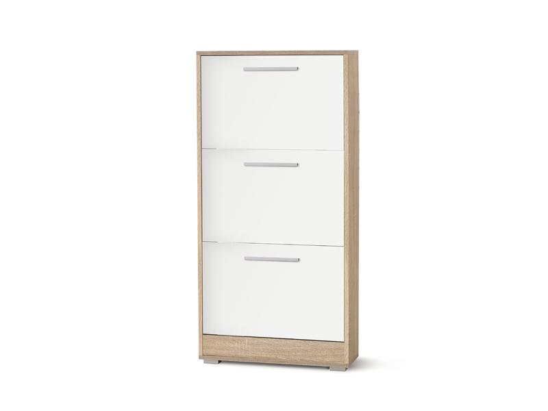 Botník (skříňka na boty) - Halmar - Lima ST-1 (dub sonoma + bílá)