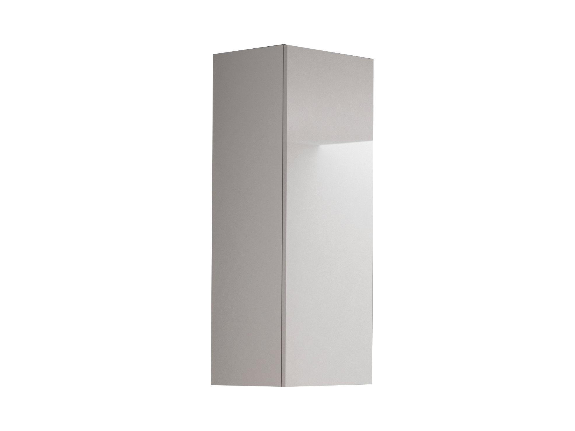 Skříňka na stěnu - Halmar - Livo S-120 (bílá + lesk bílý)