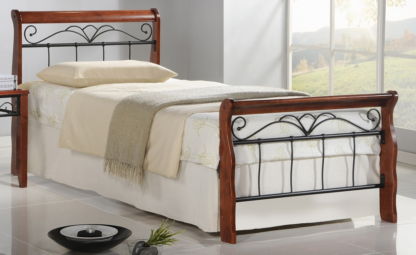 Jednolůžková postel 90 cm - Halmar - Veronica 90 (s roštem)
