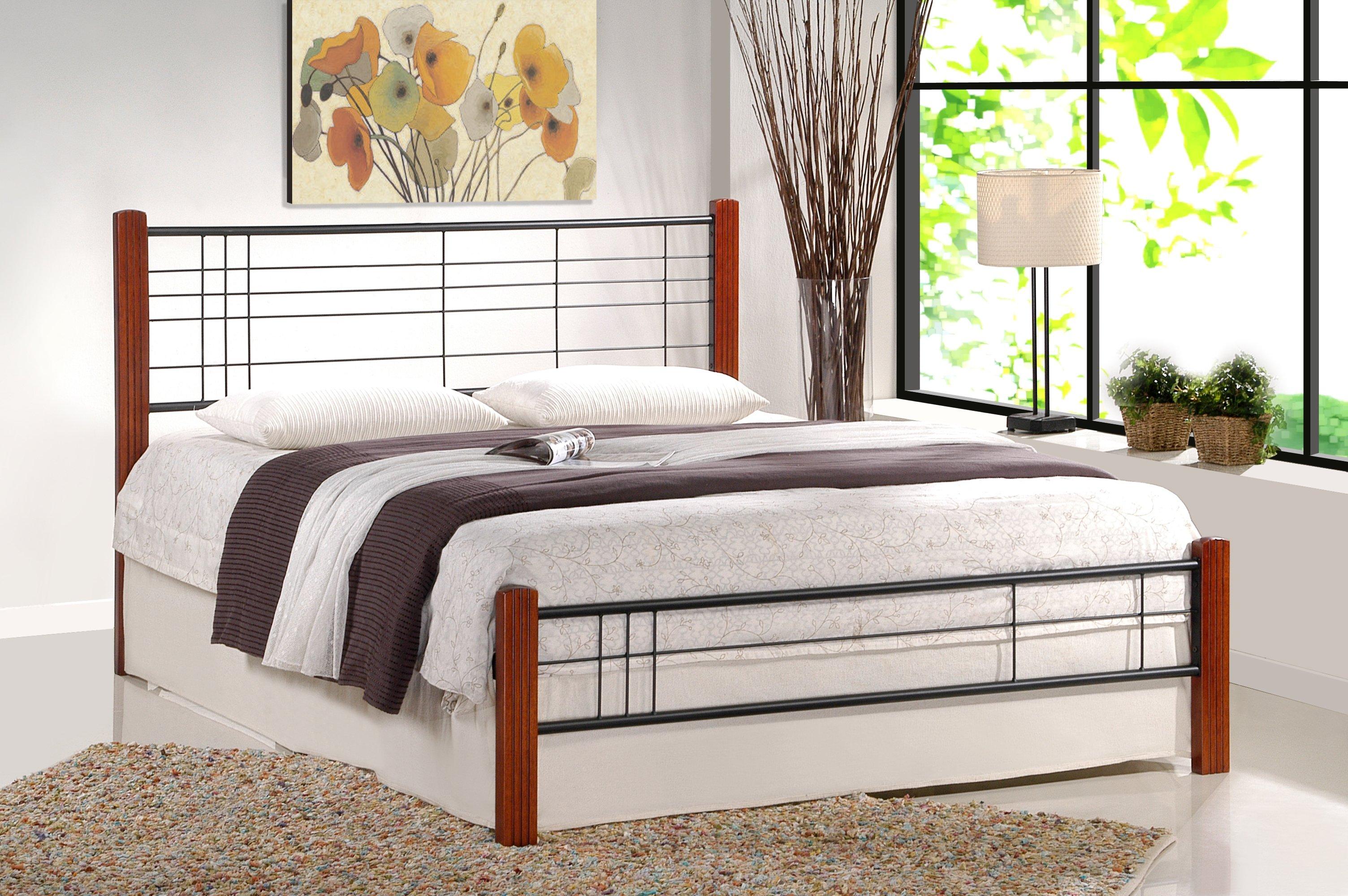 Jednolůžková postel 90 cm - Halmar - Viera (s roštem)
