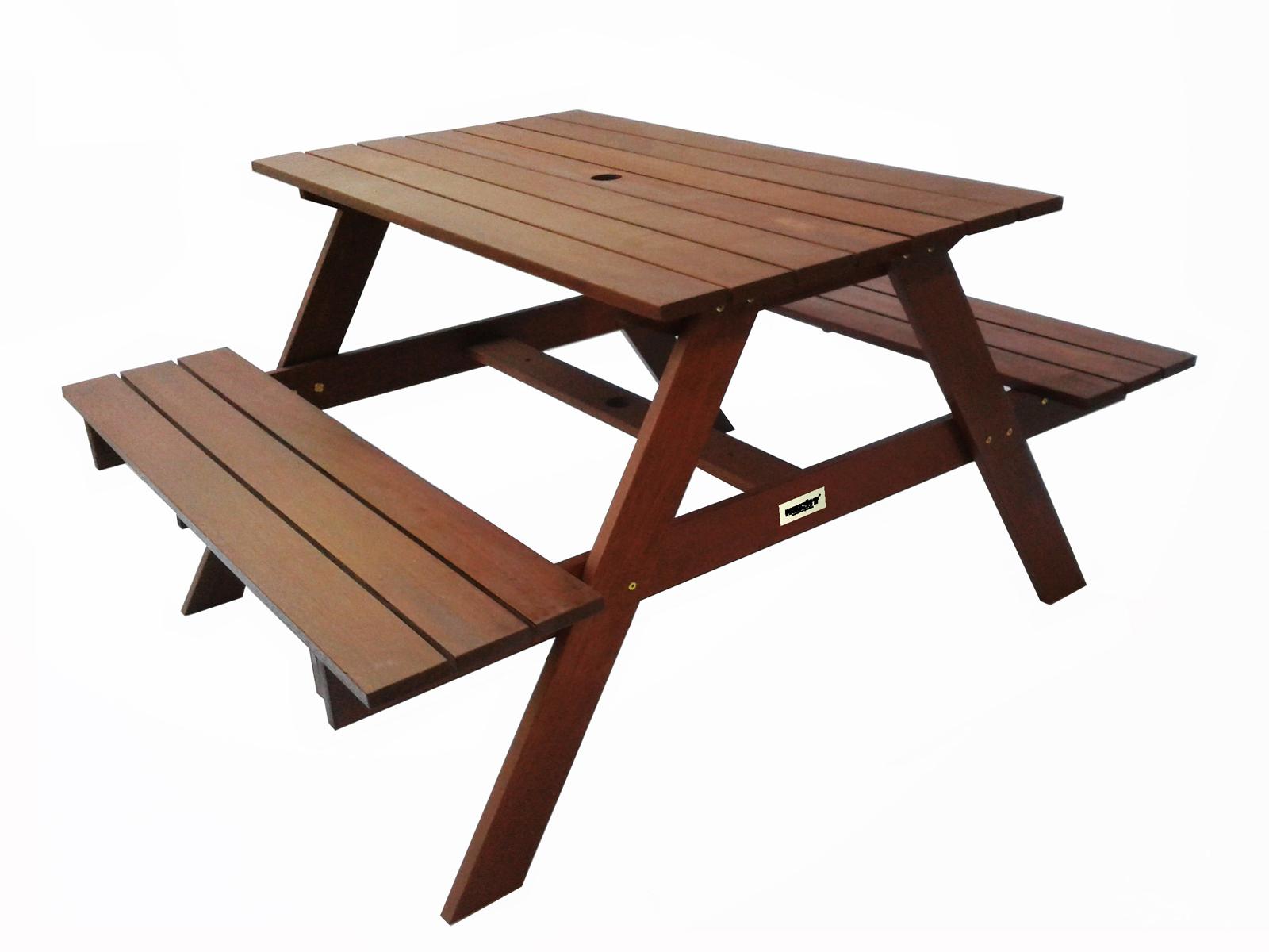 Zahradní nábytek - Hecht - Bier set 1+0 (meranti)