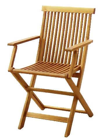 Zahradní židle - Hecht - Basic C003AGF (akácie)