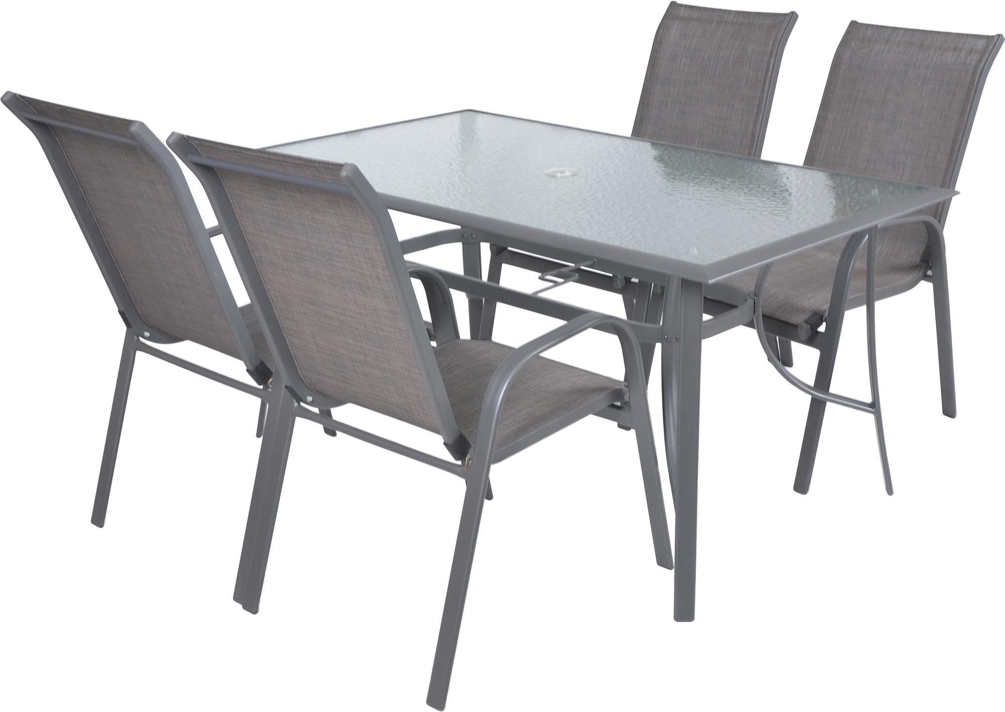 Zahradní nábytek - Hecht - Sofia set 4 (hliník)