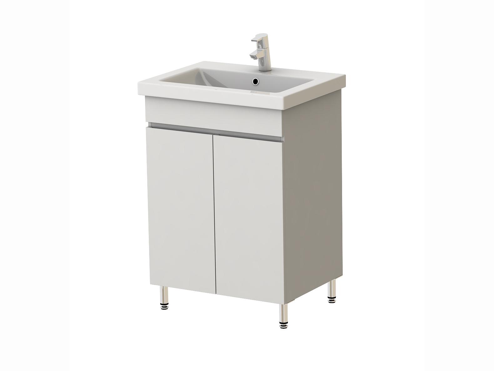 Koupelnová skříňka s umyvadlem - Juventa - Ariadna - Ar2-60 W