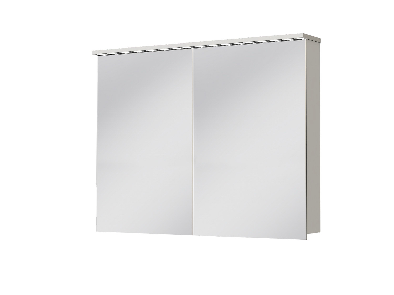 Koupelnová skříňka na stěnu - Juventa - Monza - MnMC-100 W (se zrcadlem) (s osvětlením)