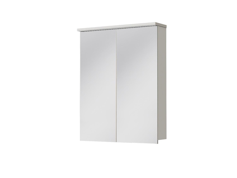 Koupelnová skříňka na stěnu - Juventa - Monza - MnMC-60 W (se zrcadlem) (s osvětlením)
