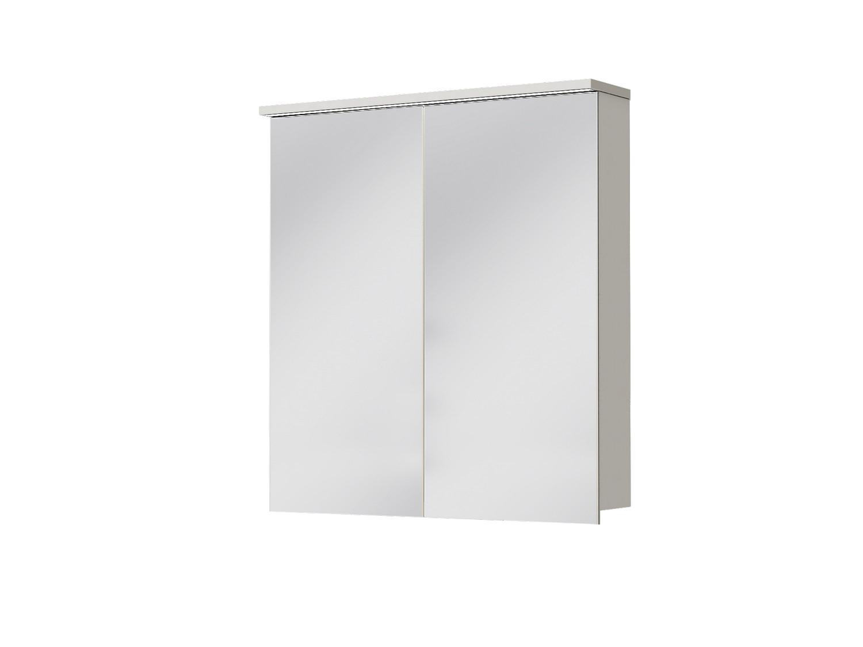 Koupelnová skříňka na stěnu - Juventa - Monza - MnMC-70 W (se zrcadlem) (s osvětlením)