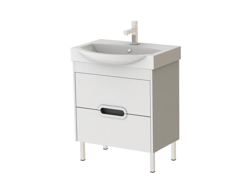Koupelnová skříňka s umyvadlem - Juventa - Monza - Mn-65 W