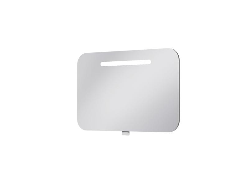 Koupelnová skříňka na stěnu - Juventa - Prato - PrM-80 (se zrcadlem) (s osvětlením)