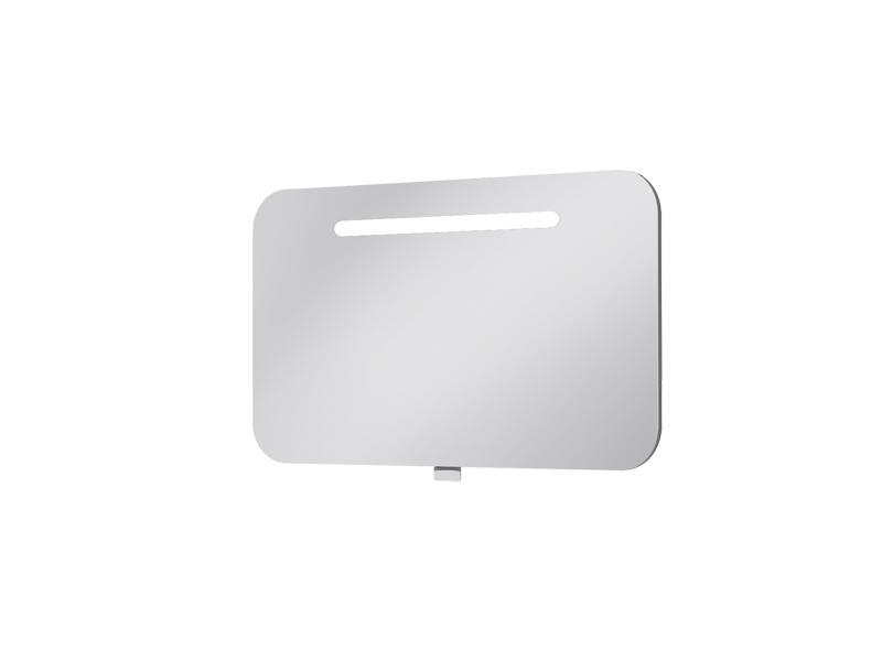 Koupelnová skříňka na stěnu - Juventa - Prato - PrM-90 (se zrcadlem) (s osvětlením)