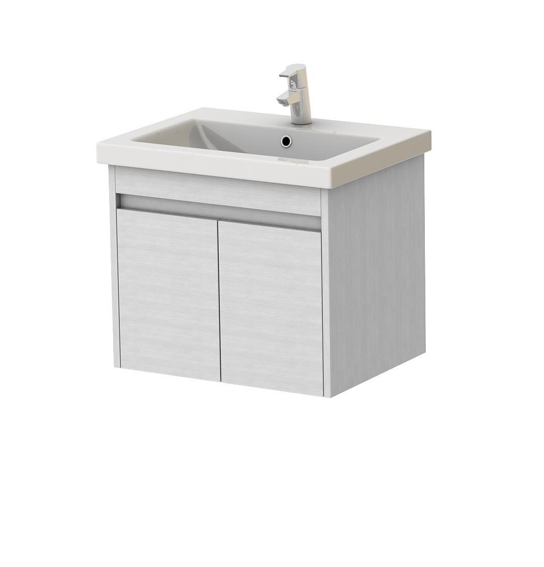 Koupelnová skříňka na stěnu s umyvadlem - Juventa - Ravenna - Rv-60 (bílá)