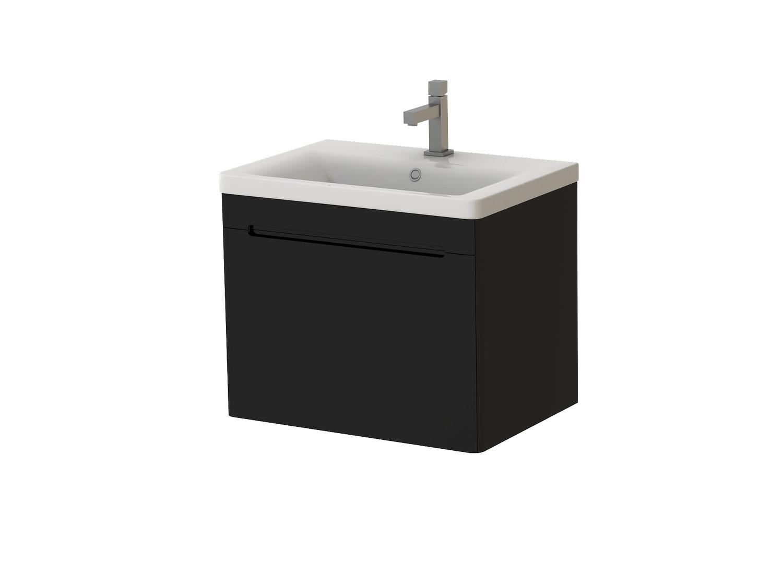 Koupelnová skříňka na stěnu s umyvadlem - Juventa - Tivoli - Tv-65 B