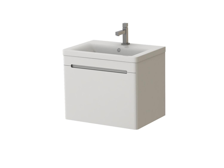 Koupelnová skříňka na stěnu s umyvadlem - Juventa - Tivoli - Tv-65 W