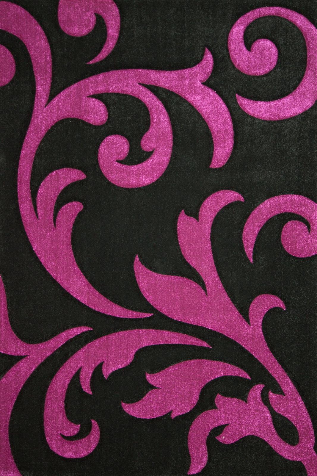 Kusový koberec - Lalee - Lambada Handcarving 451 Black-Violet