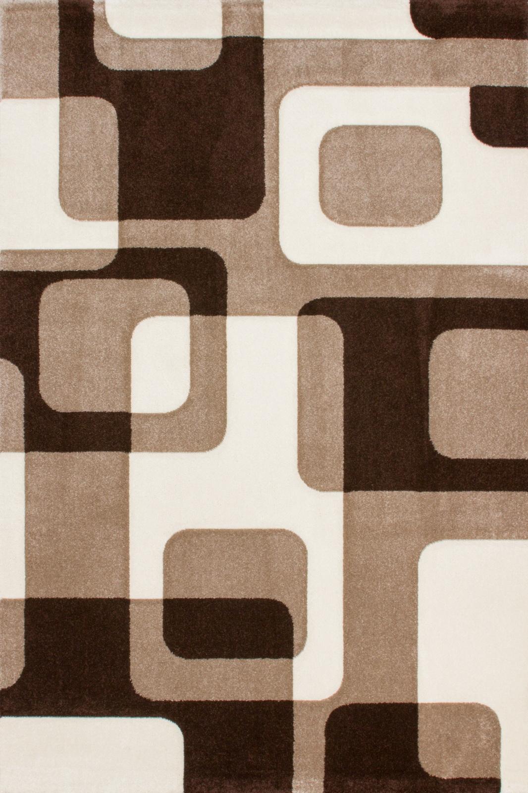 Kusový koberec - Lalee - Lambada Handcarving 463 Mocca-Beige