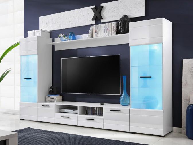 Obývací stěna - MOB - Switch (s LED osvětlením)