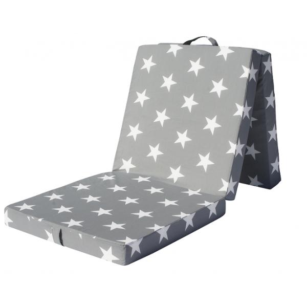 Skládací matrace - Styler - Tomy Plus Star (šedá)