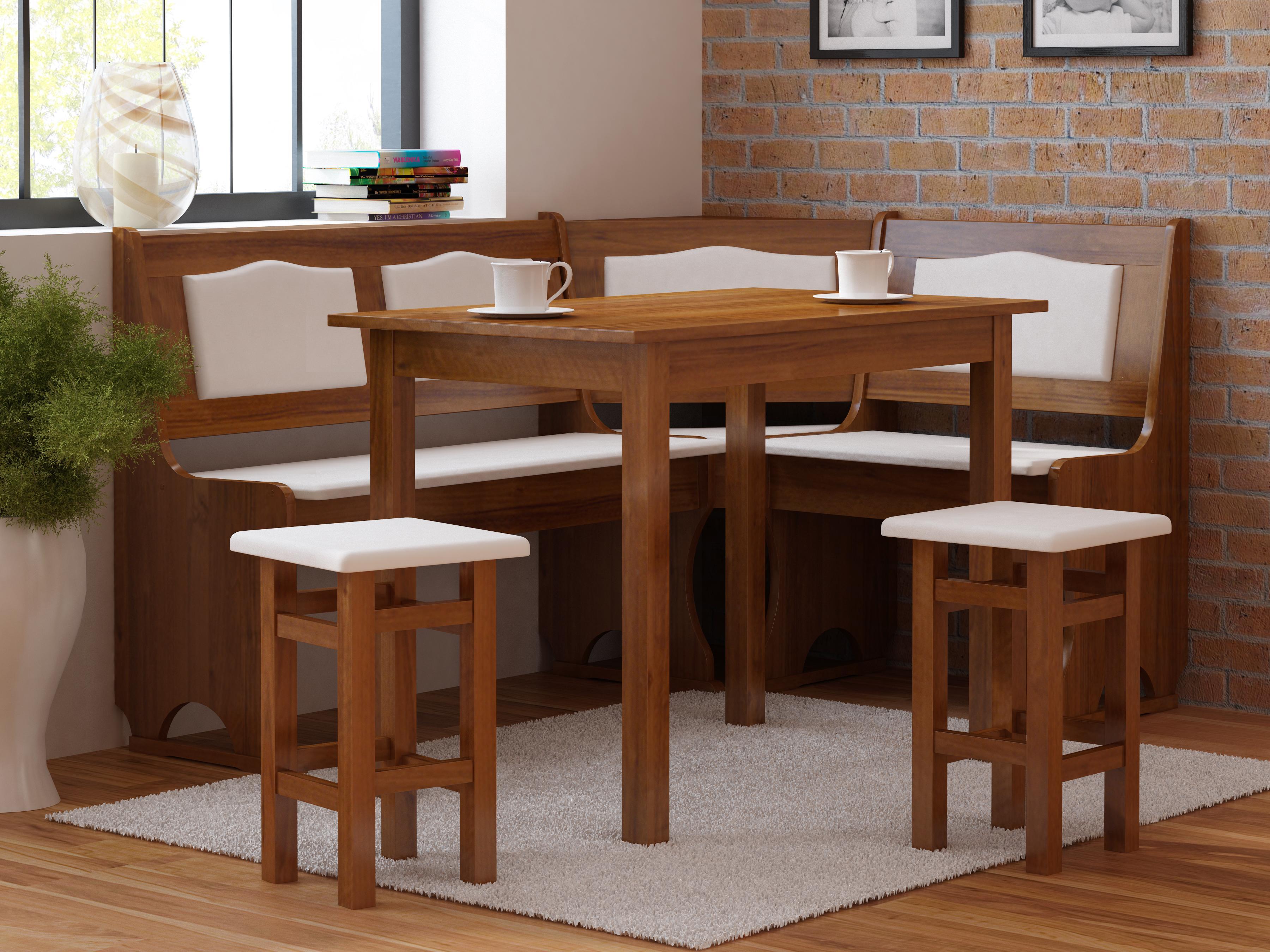 Rohový jídelní set - Monur (pro 5 osob) (P)