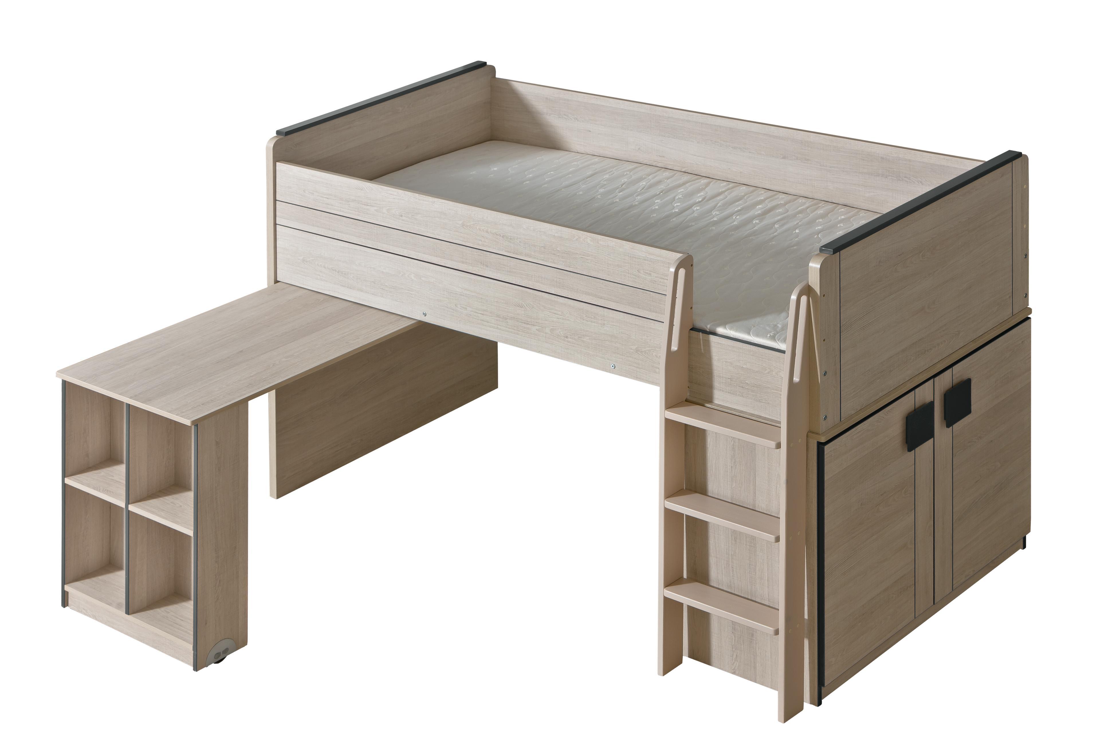 Patrová postel 90 cm - Gemo - G15 (s roštem)