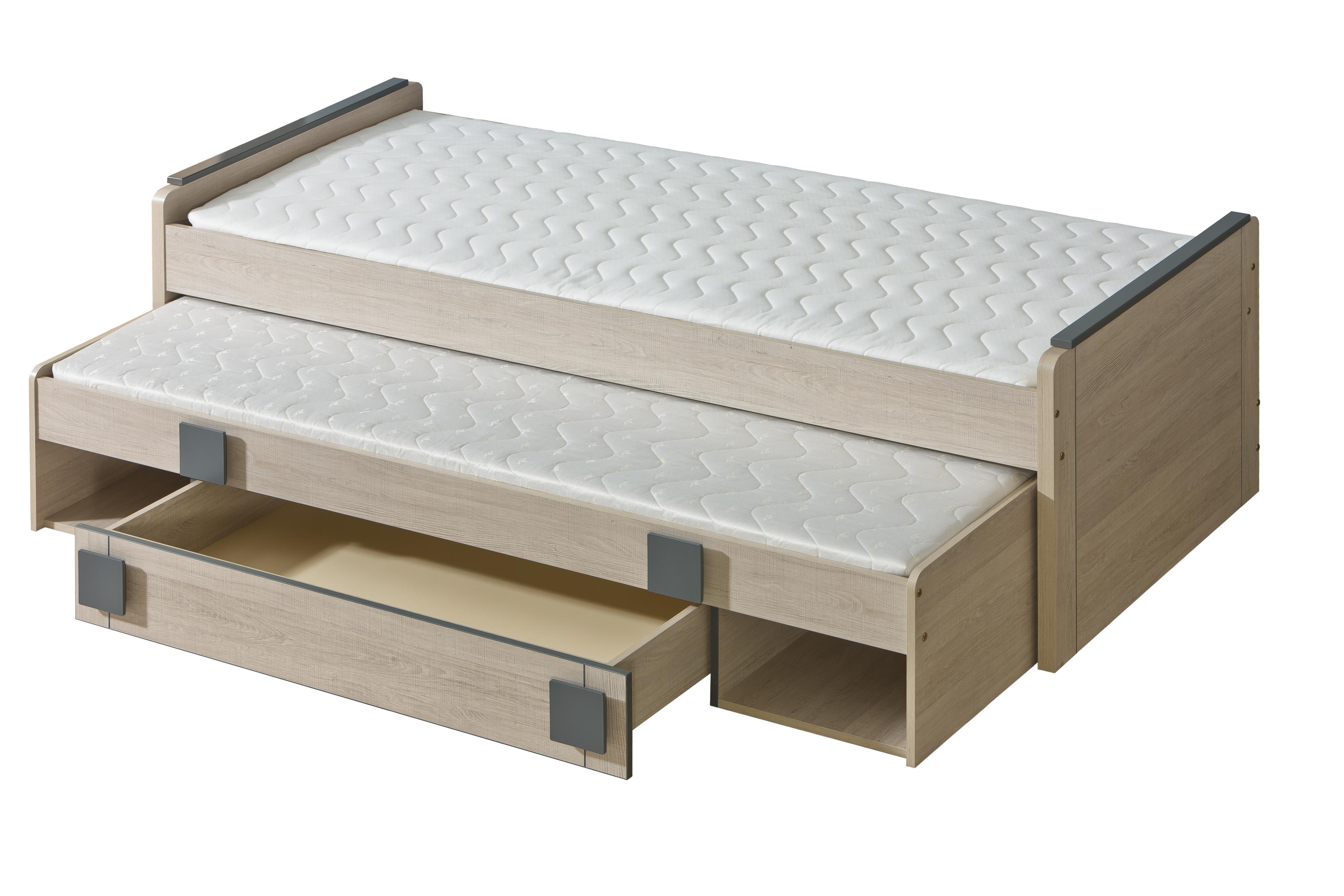Rozkládací postel 80 cm - Gemo - G16 (s rošty)