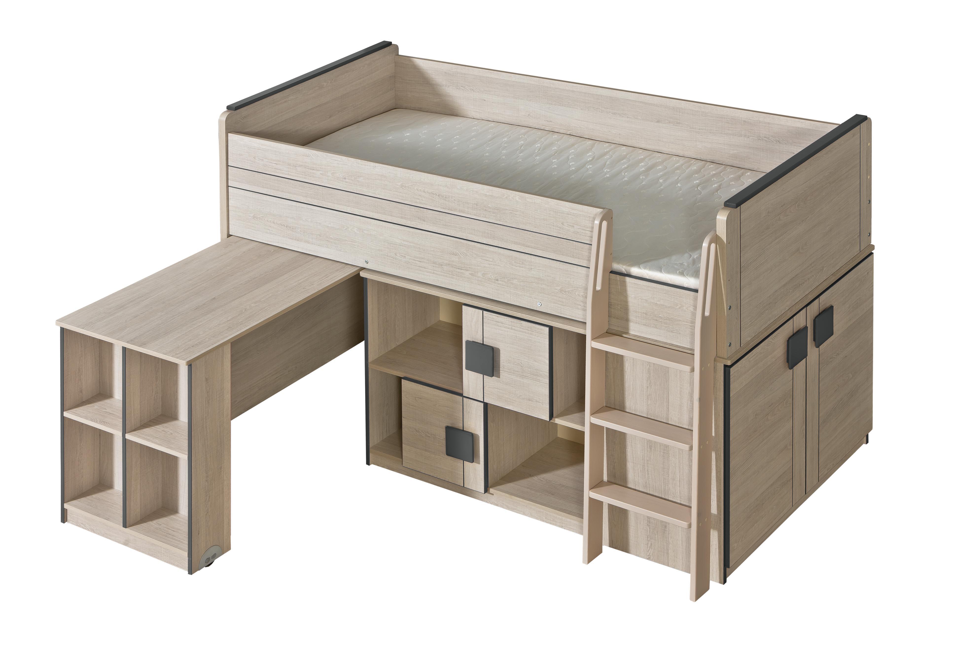 Patrová postel 90 cm - Gemo - G19 (s roštem)