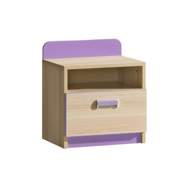 Noční stolek - Lavendon - L12 (fialová)