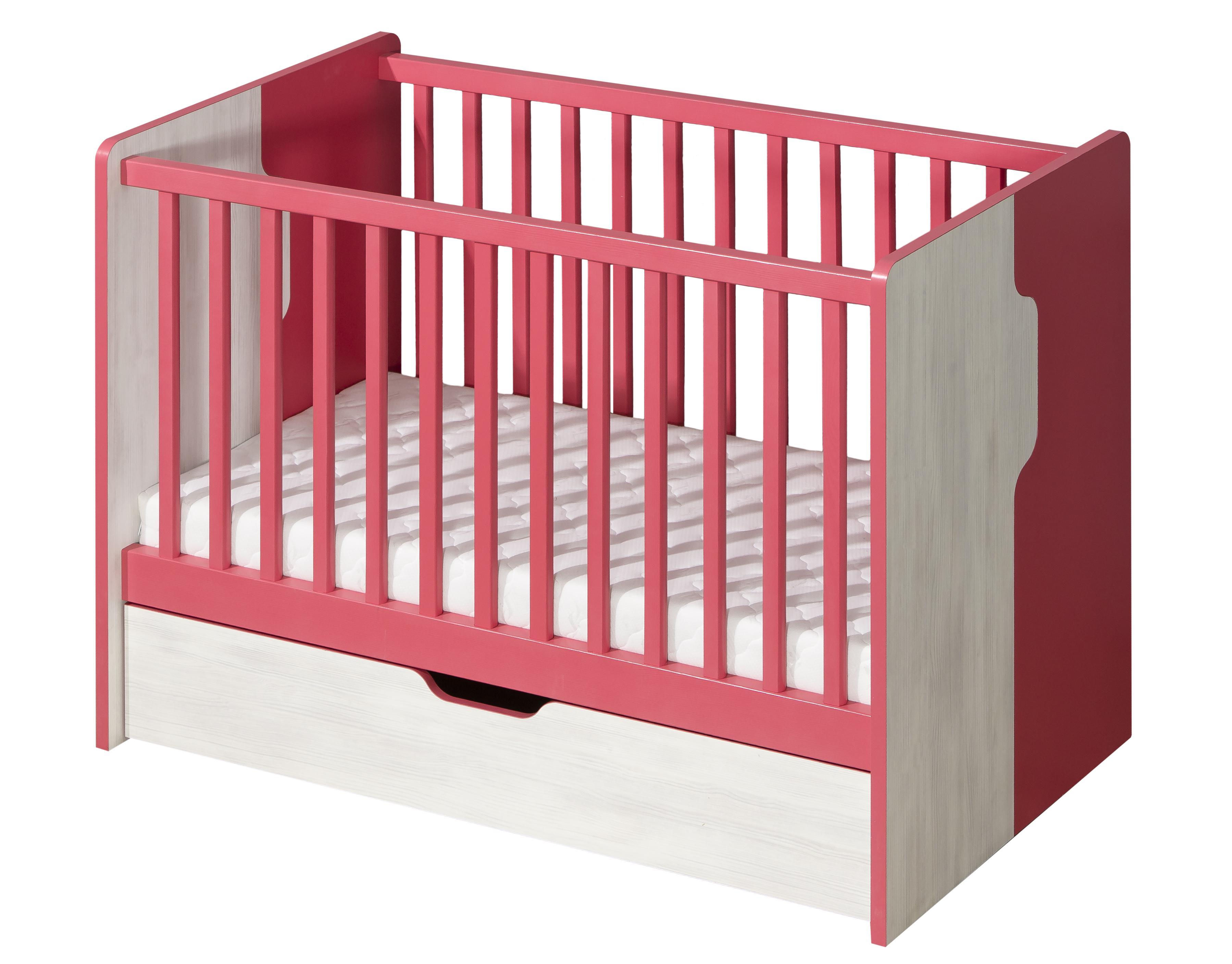 Dětská postel - Neko - NU10 (s roštem a úl. prostorem)