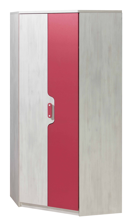 Rohová šatní skříň - Neko - NU11