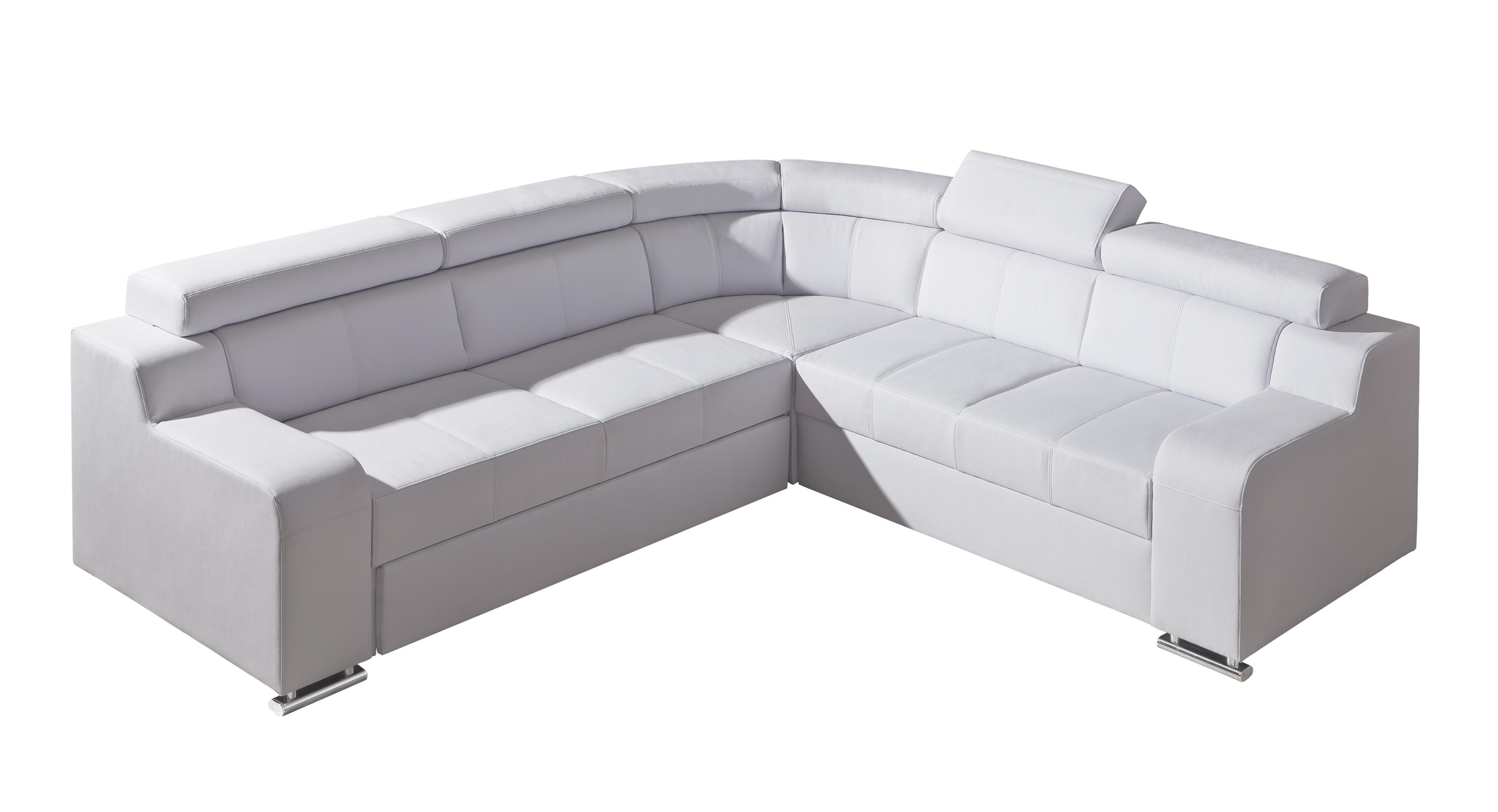 Rohová sedací souprava - Orin 1 (bílá) (P)