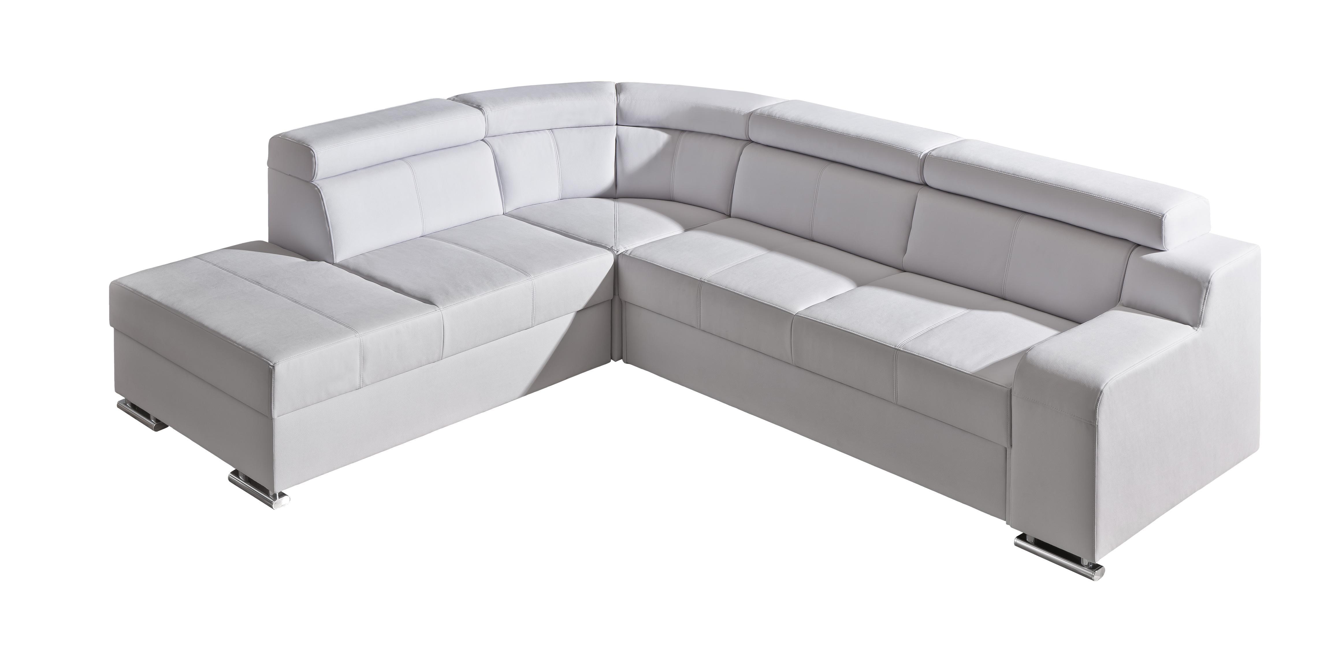 Rohová sedací souprava - Orin 2 (bílá) (L)