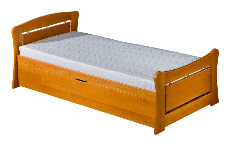 Rozkládací postel 90 cm - Pauli 2 (s rošty a úl. prostorem)