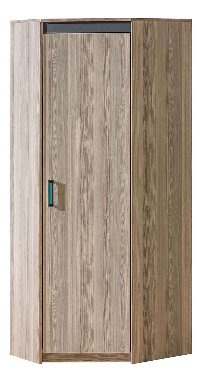 Rohová šatní skříň - Ulmo - U13