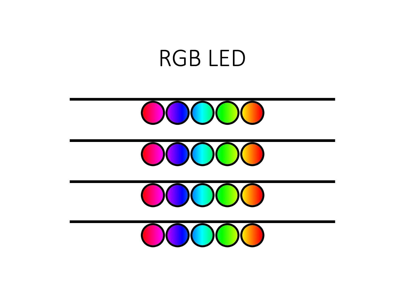 LED osvětlení - Ansty - 20 ks. (K obývací stěně)