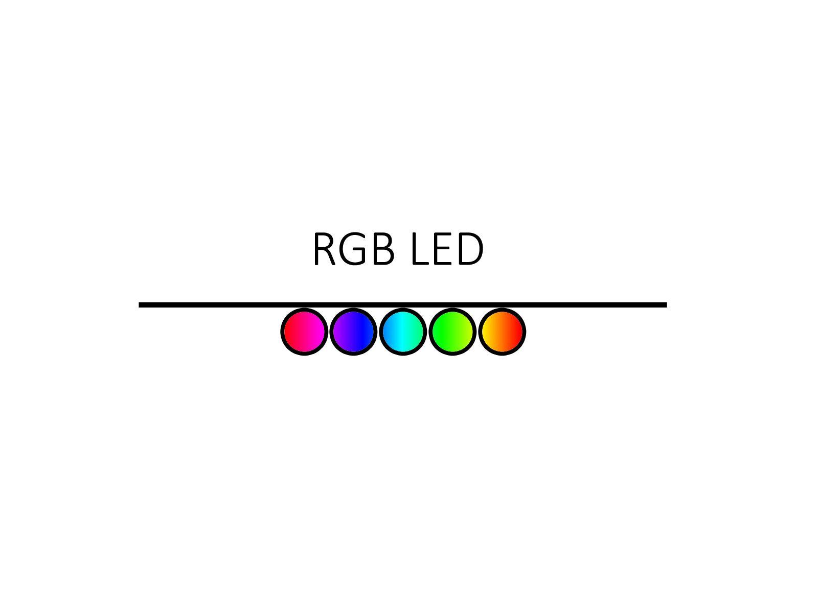 LED osvětlení - Ansty - 5 ks. (Ke komodě)