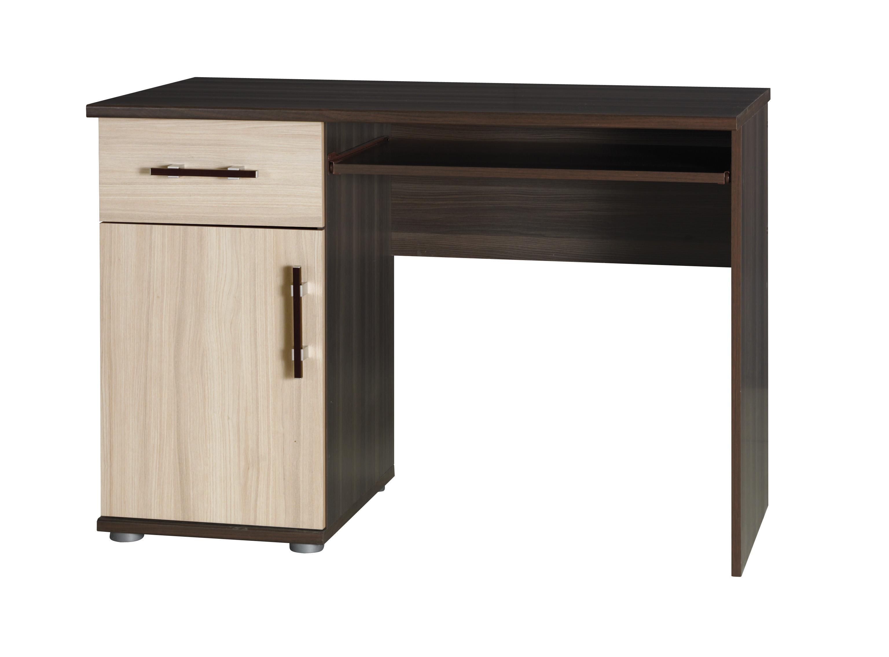 PC stolek - Irvine - I14 (jasan tmavý + jasan)