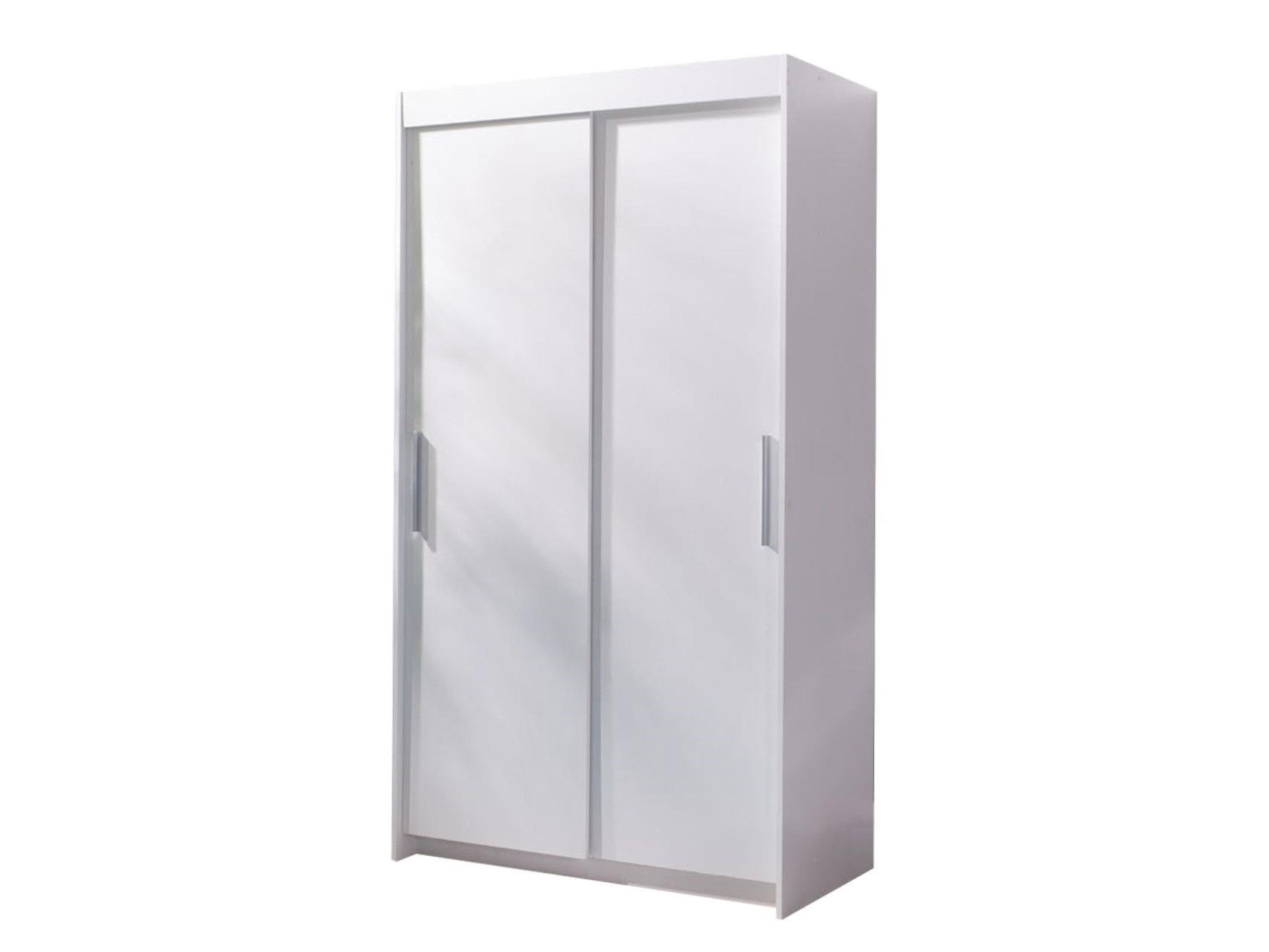 Šatní skříň - Kenton 120 (bílá)