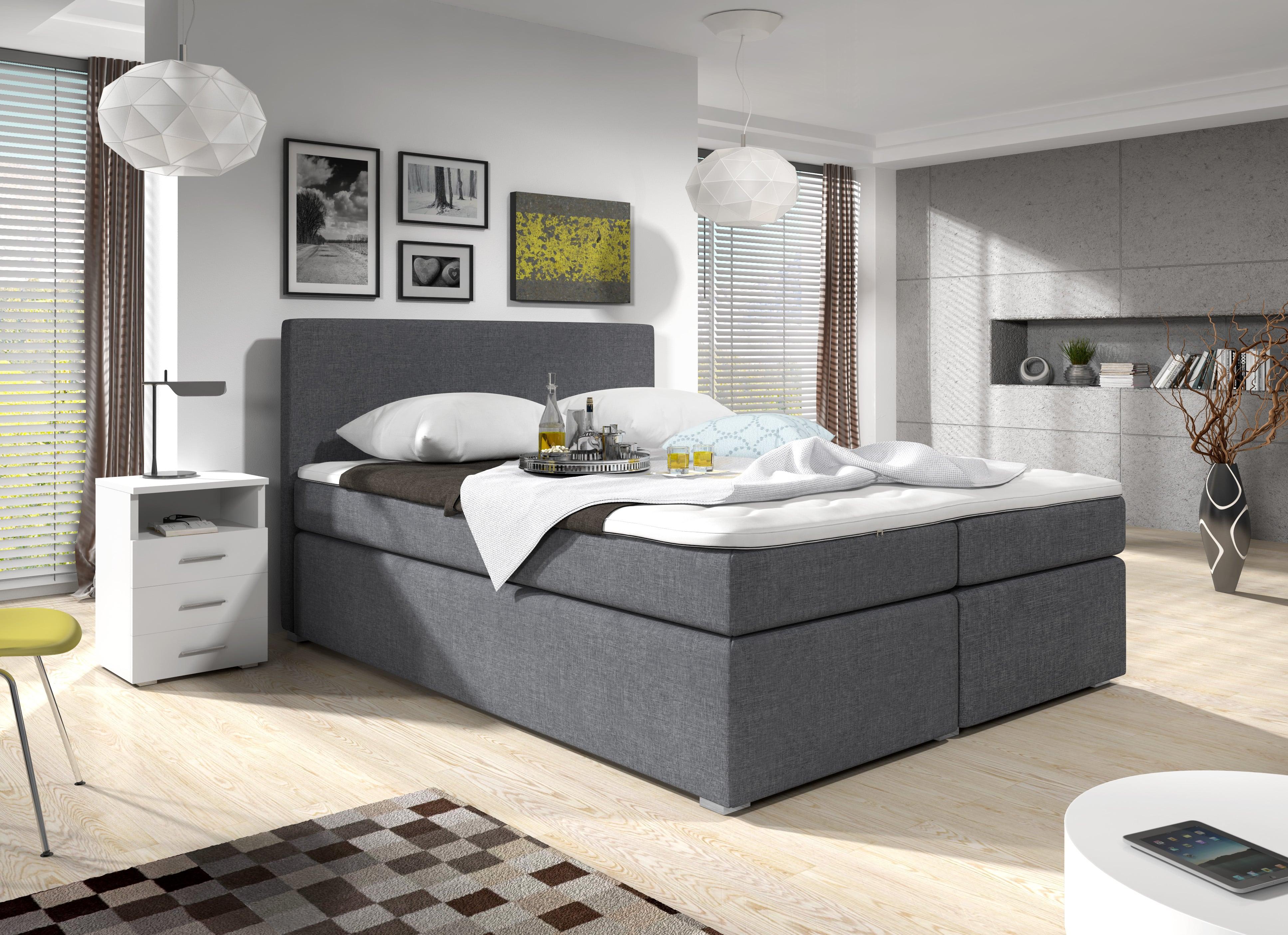 man elsk postel boxspring 180 cm sabina ed s matracemi hezk n. Black Bedroom Furniture Sets. Home Design Ideas
