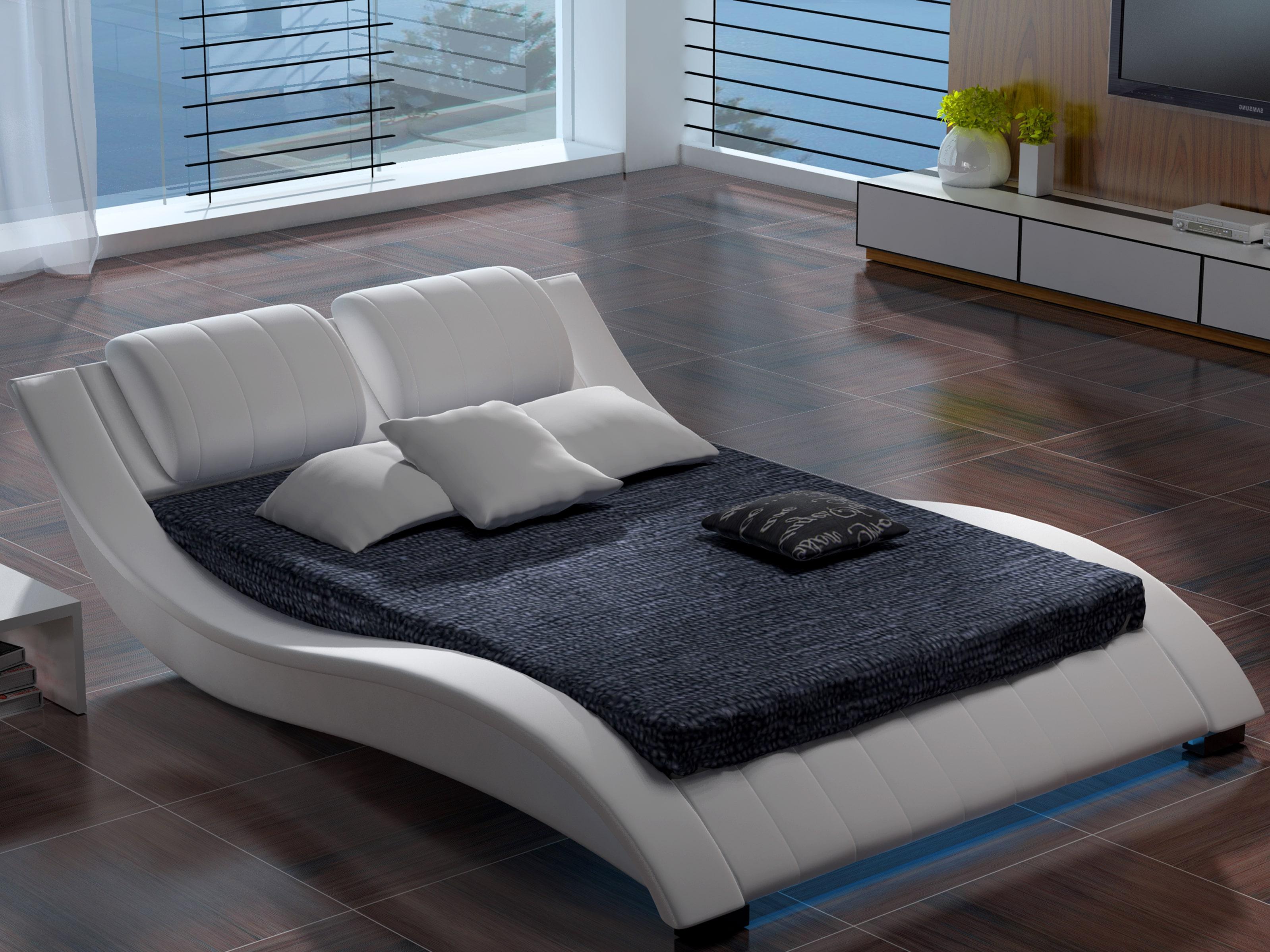 Manželská postel 140 cm - Lilia 10 (s matrací a roštem)